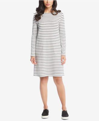 Karen Kane Striped French-Terry Shift Dress