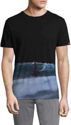 Sundek Men's Cotton Graphic T-Shirt