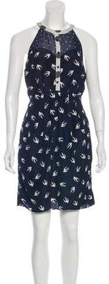 Greylin Printed Halter Dress