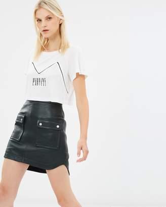 Open Season Leather Mini