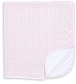 Kissy Kissy Baby Girl's Heart Print Blanket