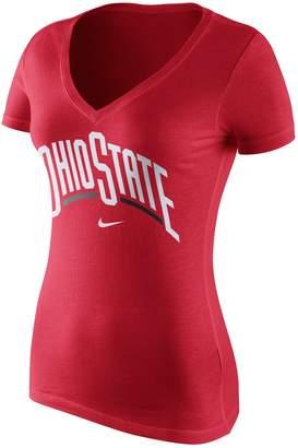 Nike Women's Ohio State Buckeyes Wordmark Tee