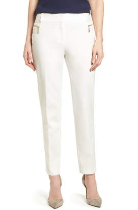 Chaus Dena Zip Pocket Ankle Pants