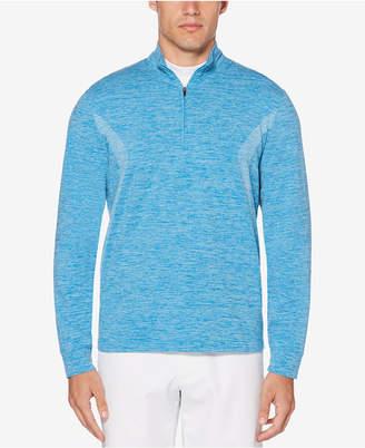 PGA Tour Men Water Repellent Pigment Print 1/4 Zip Pullover