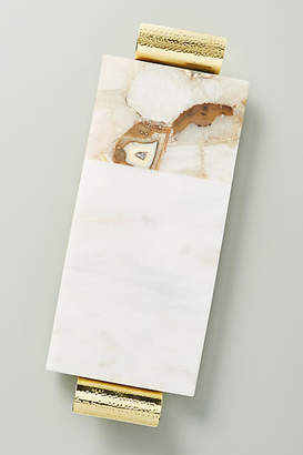 Anthropologie Morgan Agate Cheese Board