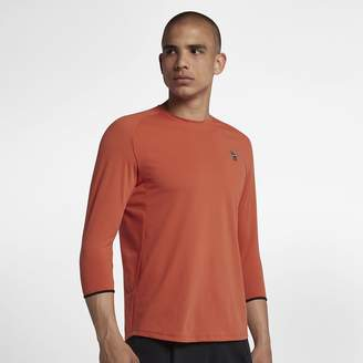 Nike NikeCourt Dry Challenger Men's 3/4-Sleeve Tennis Top