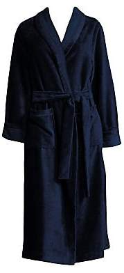Saks Fifth Avenue Women's COLLECTION Terry Velour Wrap Robe