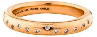 Ippolita 18K Diamond Glamazon Squiggle Ring