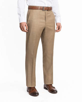 Santorelli Men's Lux Serge Twill Dress Pants