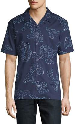 Antony Morato Men's Printed Cotton Button-Down Shirt
