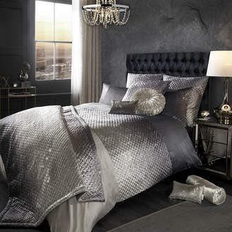 Kylie Minogue At Home at Home - Gia Duvet Cover - Slate - Double