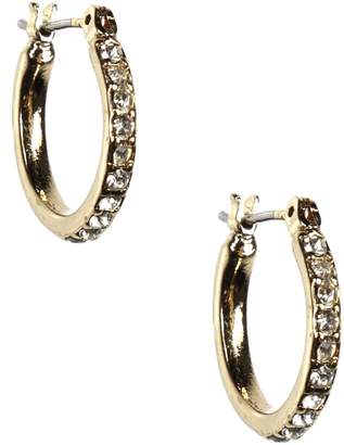 Anne Klein Goldtone Small Hoop Earrings