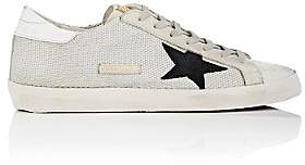 Golden Goose Men's Superstar Leather & Mesh Sneakers-White