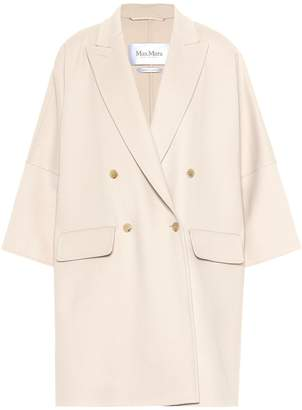 Max Mara Fibra wool and angora coat