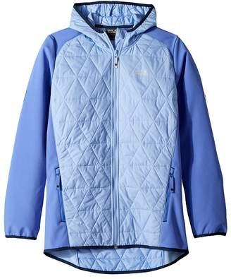 Jack Wolfskin Kids Grassland Hybrid Jacket Girl's Coat
