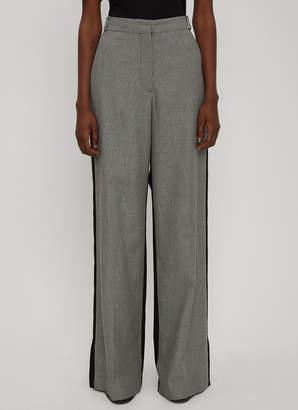 Stella McCartney Wide-Leg Bi-Colour Pants in Grey