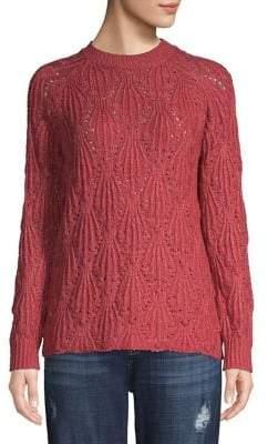 Kensie Textured Mockneck Sweater