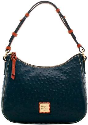 Dooney & Bourke Ostrich Small Kiley Hobo