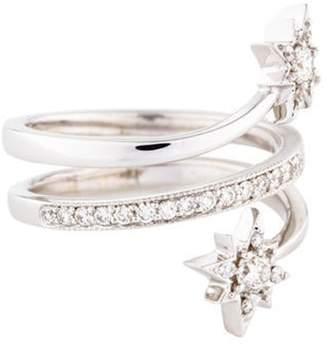 Penny Preville 18K Diamond Star Ring white 18K Diamond Star Ring