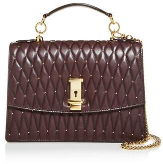 Bally Lyla Quilted Leather Satchel