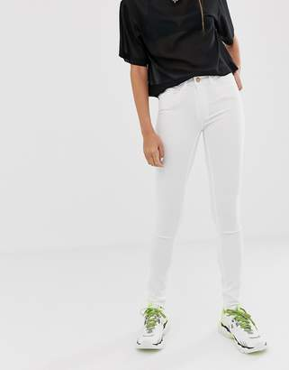 Noisy May Lucy extreme soft mid rise skinny jeans