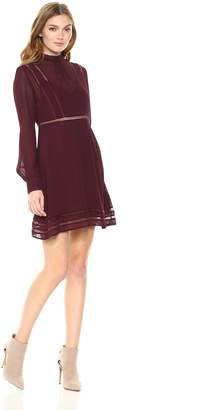 ASTR the Label Women's Kirsten Long Sleeve Shift Dress