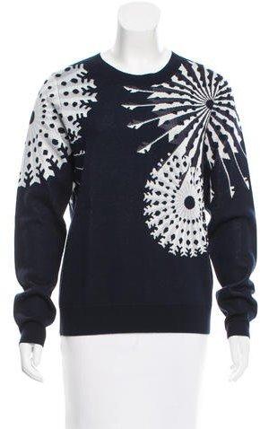 3.1 Phillip Lim3.1 Phillip Lim Crew Neck Patterned Sweater