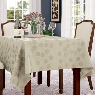 Co Darby Home Langlie Rectangular Jacquard Tablecloth