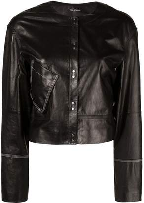Yigal Azrouel contrast stitching jacket