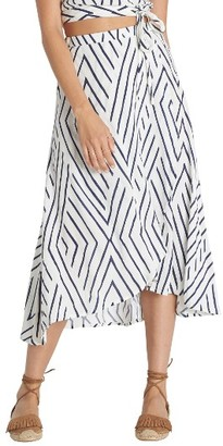 Women's Billabong Time Again Woven Midi Skirt $49.95 thestylecure.com