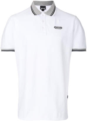 Just Cavalli contrast collar polo shirt
