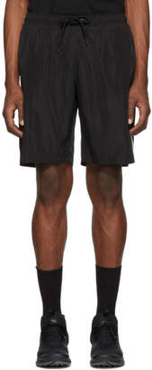 Marcelo Burlon County of Milan Black and Silver Muhammad Ali Edition Swim Shorts