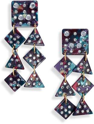 Lele Sadoughi Spotlight Chandelier Earrings