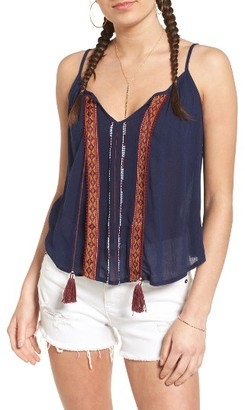 Women's Band Of Gypsies Embellished Camisole $46 thestylecure.com