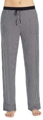 DKNY Jersey Striped Pajama Pants