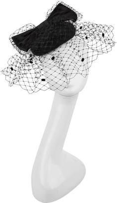 Siggi Bow Pillbox Hat with Veil