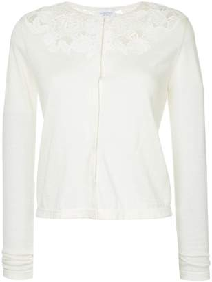 Giambattista Valli open embroidery cardigan