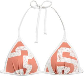 H&M Push-up Triangle Bikini Top - Orange
