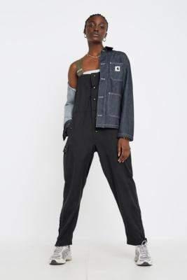 Urban Renewal Vintage Bib Dungarees - black at Urban Outfitters