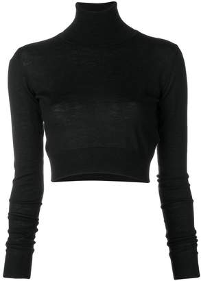 Emilio Pucci roll neck long sleeved knit top