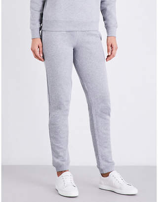 Sunspel Skinny relaxed-fit cotton-jersey jogging bottoms $100 thestylecure.com