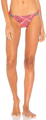 Ale By Alessandra Bandit Banded California Bikini Bottom