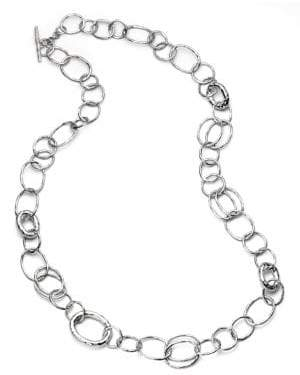 Ippolita Glamazon Sterling Silver Bastille Element Link Chain Necklace