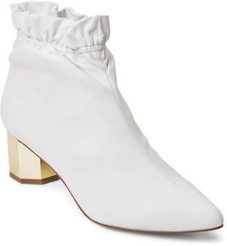 Katy Perry White Gigi Leather Booties