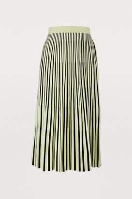48e49e38bb Proenza Schouler Long pleated skirt