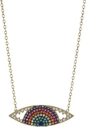 Shashi Rainbow Eye Necklace