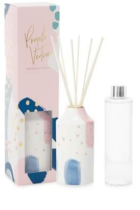 Debenhams Pink Ceramic Pomelo And Vetiver Fragranced Diffuser