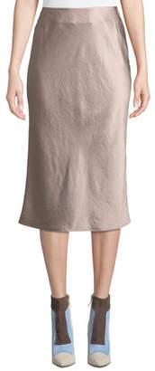 Alexander Wang Wash And Go Woven Slip Midi Skirt