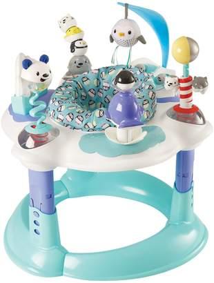 Evenflo Exersaucer Polar Playground Bouncing Activity Centre