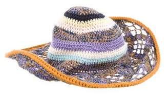 Missoni Mélange Brimmed Hat